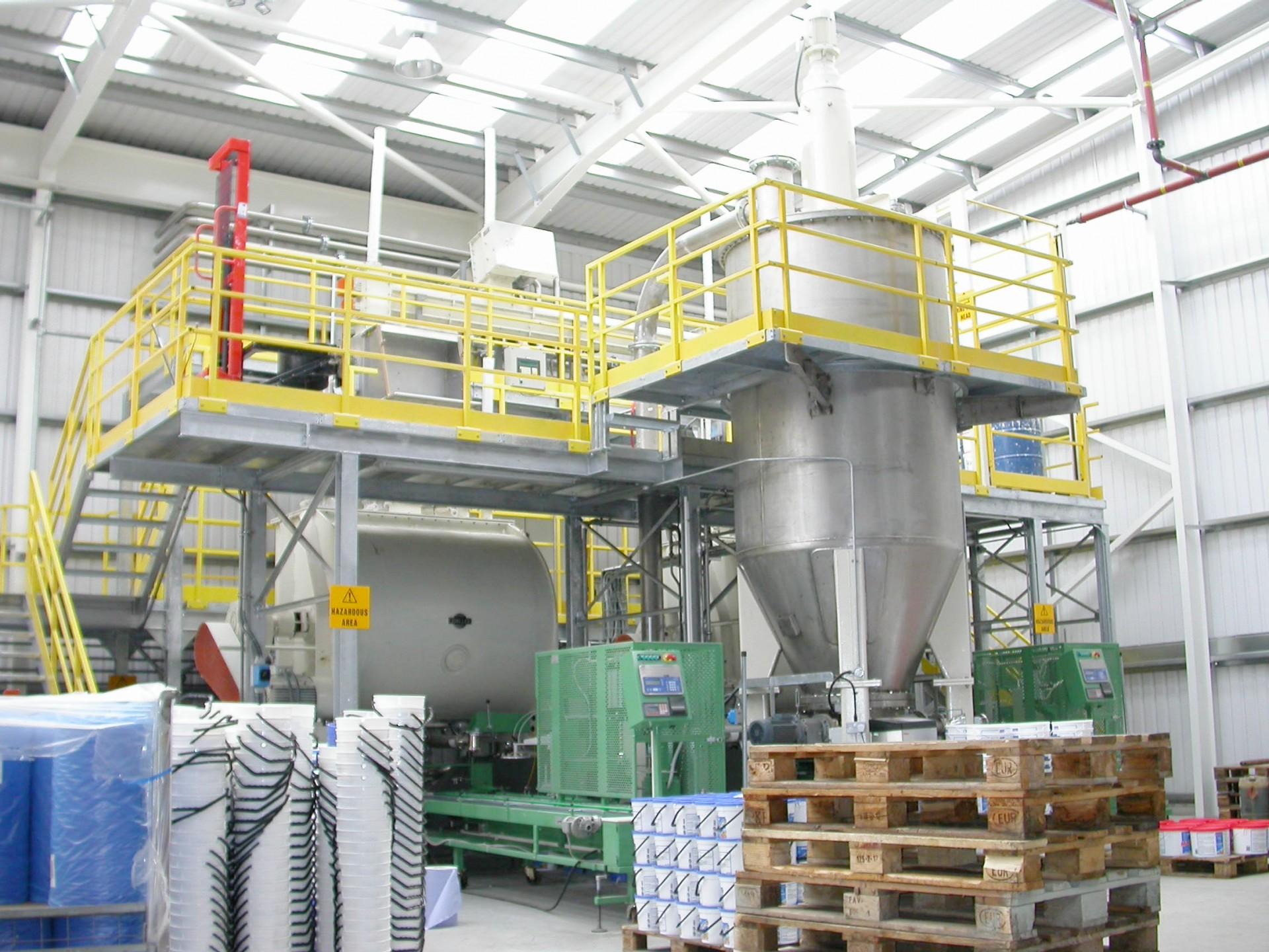 Impianti di miscelazione e betonaggio